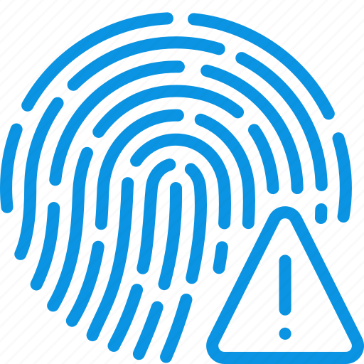 biometric, finger, fingerprint, id, password, scan, touch icon