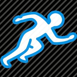 games, olympic, race, run, runner, running, sport icon