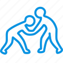 club, fight, fighting, judo, karate, olympic, sambo, sport, taekwondo icon