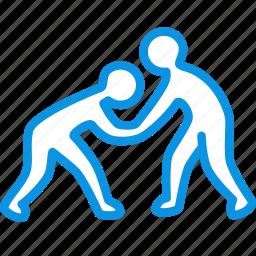 club, fight, fighting, judo, karate, olympic, sambo, sport, taekwondo icon