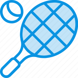 ball, competition, game, racket, sport, tennis icon
