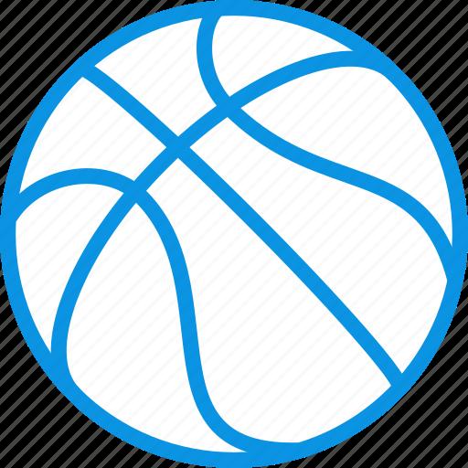 ball, basketball, dribble icon