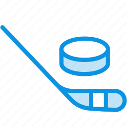 club, competition, game, hockey, puck, sport, stick icon