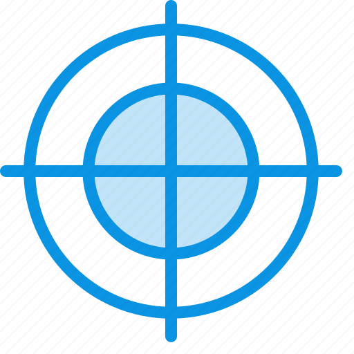 aim, goal, gun, mark, target icon