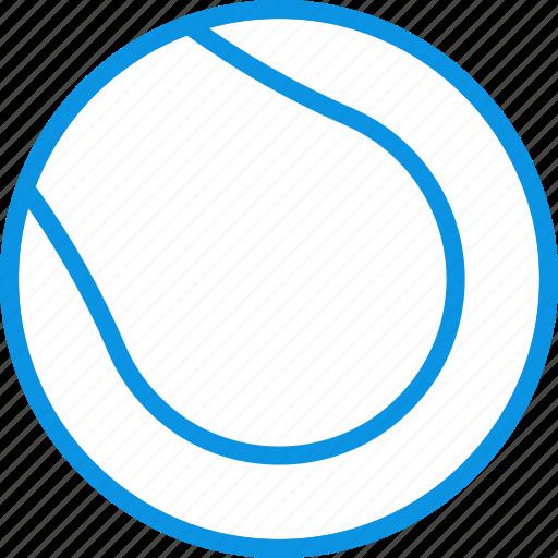 ball, game, sport, tennis icon