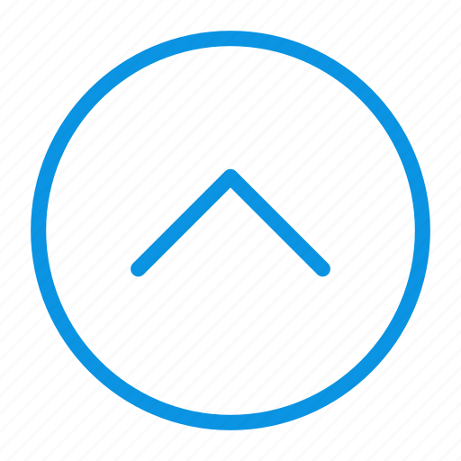 Arrow, circle, up icon - Download on Iconfinder