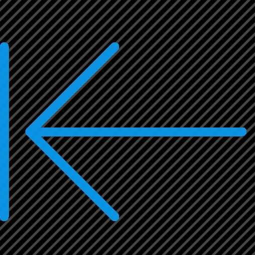 arrow, home, rewind, start icon