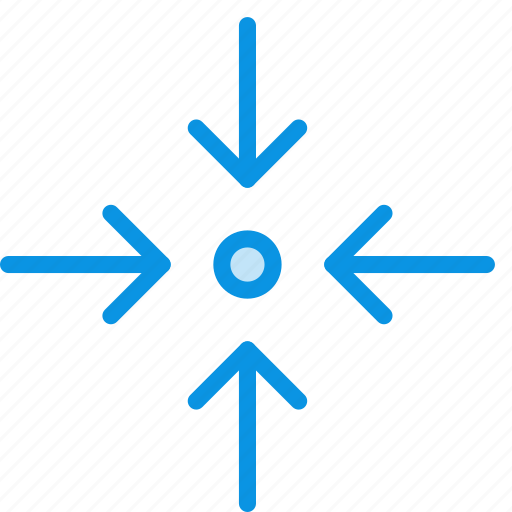 arrow, collapse, expand, fullscreen, scale, zoom icon