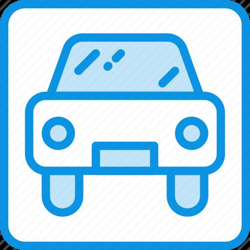 car, parking icon