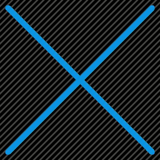 cross, sign icon