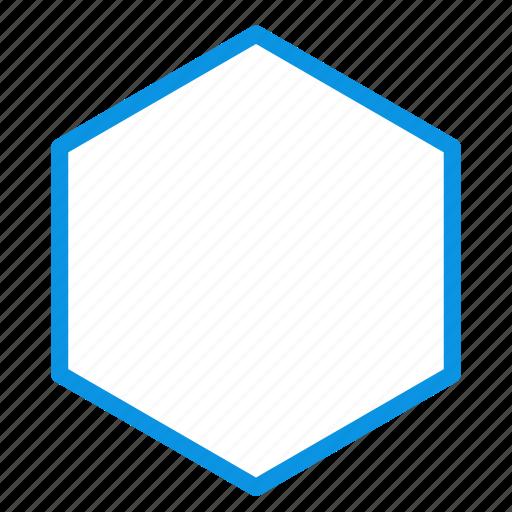 cell, hexagon, honey, sign icon