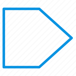 banner, flag, sign icon