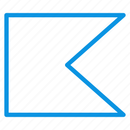 banner, flag icon