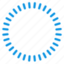 cicrcle, logo, ray icon