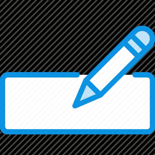 edit, form, pencil icon