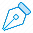 classic, ink, pen, retro, tool icon
