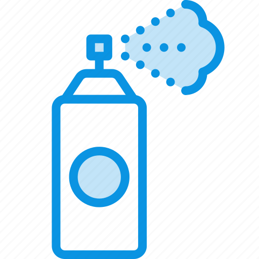 airbrush, deodorant, spray, tool icon