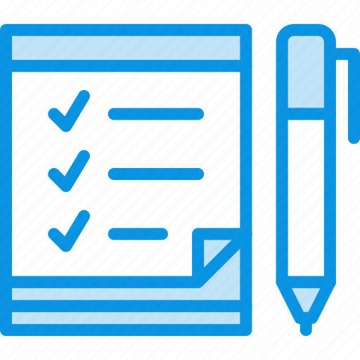 list, notes, scrapbook, tasks, todo icon