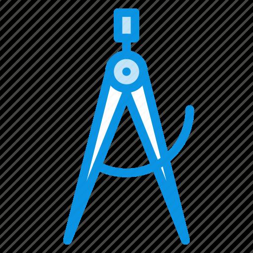calipers, mason, measure, tool icon