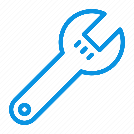 options, preferences, spanner, tool, wrench icon