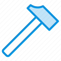 hammer, joinery, tool icon