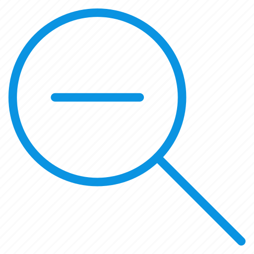 lense, out, search, tool, zoom icon