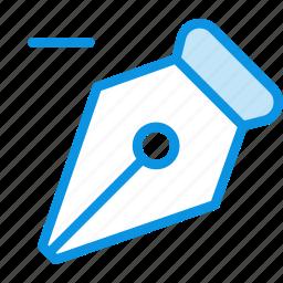 delete, pen, point icon