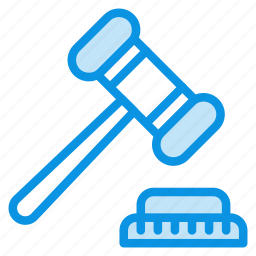 auction, bargaining, closeout, hammer, judge, justice, sale icon