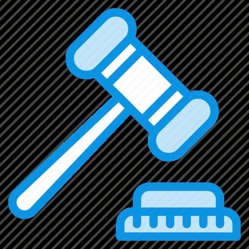Auction, hammer, judge icon - Download on Iconfinder