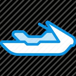 jet, ski, transport, water icon