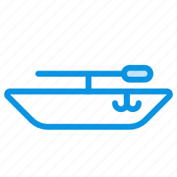 boat, transport, water icon