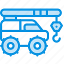 crane, vehicle icon