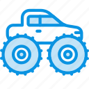 monster, truck icon