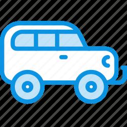 car, jeep, transport icon
