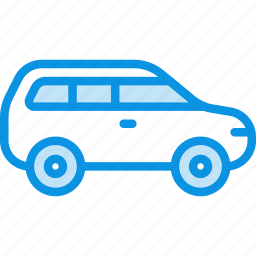 car, crossover, jeep, transport icon