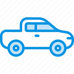 car, jeep, pickup, transport icon