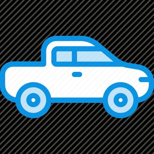 jeep, pickup icon