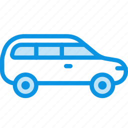 car, estate, transport icon