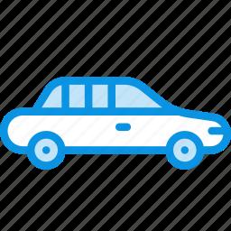 car, limo, limousine, transport icon