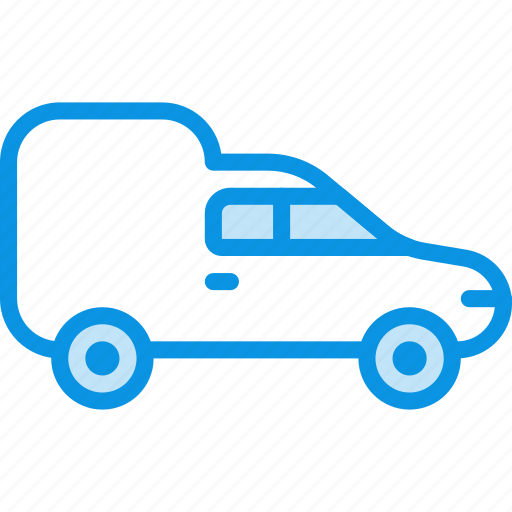 Delivery, transport, van icon - Download on Iconfinder