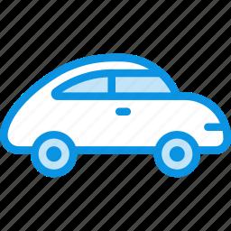 beetle, beetlecar, car, retro, transport icon