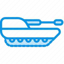 cannon, howitzer, military, panzer, tank icon