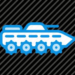 apc, btr, fighting, ifv, infantry, military, tank, vehicle icon