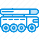 launcher, missile, truck icon