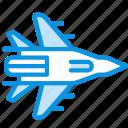 bomber, plane, storm icon