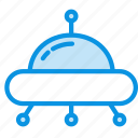 ship, space, ufo icon