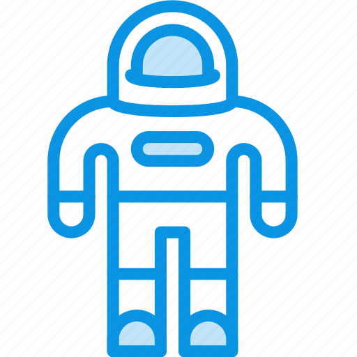 astronaut, cosmonaut, suit icon