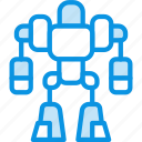 exoskeleton, robot icon