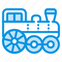 locomotive, steam, train icon