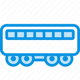 passenger, train icon